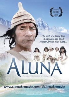 2012 Film Poster of Aluna. Transition Town, War Of Attrition, Nevada Mountains, Image News, American Spirit, Lost City, Rise Above, Sierra Nevada, Colombia