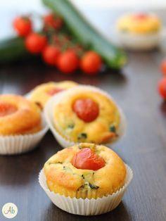 Muffin Salati Zucchine e Pomodorini