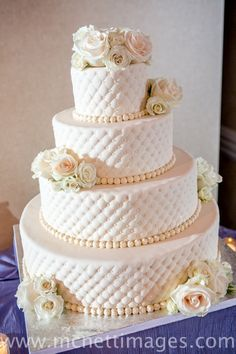 Wedding Cake – Meghan and Dave& 4 Tier Fondant Quilted Wedding . 6 Tier Wedding Cakes, Luxury Wedding Cake, Wedding Cake Designs, Wedding Cake Toppers, Rustic Wedding, Wedding Decor, Wedding Catering Prices, Cute Cakes, Cake Creations