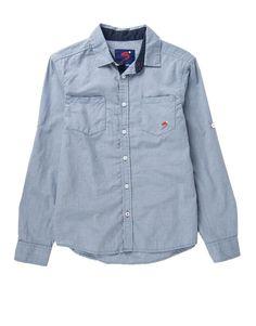 Fine Check Cotton Shirt @Woolworths SA