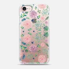Casetify iPhone 7 Snap Case - Spring Flowers by Mint Corner