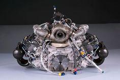 Audi's Monoturbo developed by Honeywell Garret