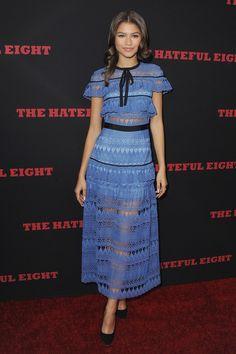 Zendaya wearing Self-Portait dress! This brand is amazing!