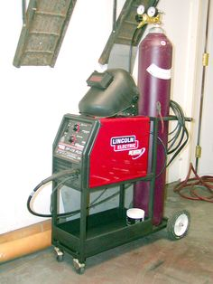 Example of a DYI MIG cart.