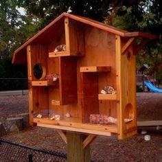 Squirrel house for jcc | North Dakota | Pinterest