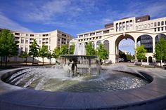 France, Montpellier, Antigone.