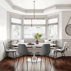 Dining Nook, Dining Table Chairs, Dining Room Design, Side Chairs, Kitchen Nook, Kitchen Seating, Kitchen Redo, Kitchen Ideas, Kitchen Design