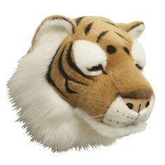 tiger dyrehode til barnerommet Tiger, Disney Characters, Fictional Characters, Barn, Teddy Bear, Animals, Converted Barn, Animales, Animaux