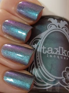 Takko Lacquer Kaleidoscope Eyes (1/2 mani, old style bottle) $25 (would like to swap for we're all mad here)