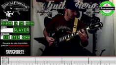 """Como tocar """"Seasons in the abyss"""" (Slayer) by GuitarFiero"""