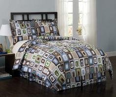 Square Dots Bedding - Geometric Bedding