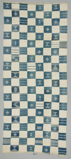 OBJECT NAME:Blanket PLACE MADE:Africa: West Africa, Sierra Leone PEOPLE:Sherbro PERIOD:20th century DATE:1900 - 1999