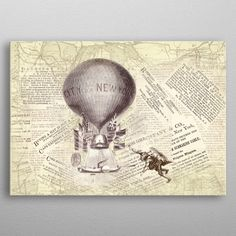 Flight Over New York by Catherine Holcombe Wall Art Prints, Canvas Prints, New City, Vintage World Maps, Canvas Art, Wall Decor, Posters, Fine Art, York