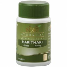 Healthy Stomach = Healthy Body. Keep your body healthy and the dosha balanced by ensuring that your stomach is healthy. Sri Sri Ayurveda Haritaki tablets are laxatives that help keep your digestive system balanced.
