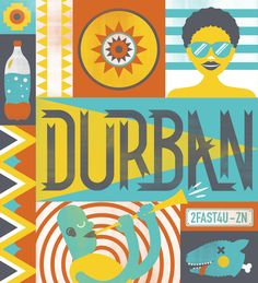 Only In Durban on Behance