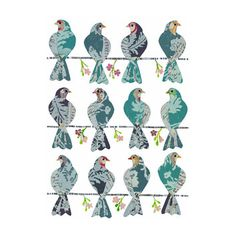 Brewster Home Fashions Brewster Home Fashions Komar Freestyle Doves Wall Decal