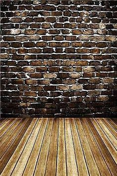 GladsBuy Brick Wall x Computer Printed Photography Backdrop Textures Theme Background Christmas Pageant, Theme Background, Brick Wall, Photo Studio, Backdrops, Texture, Wood, Prints, Backgrounds