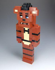 Lego Custom Freddy Fazbear Five Nights at Freddy's by BrickBum