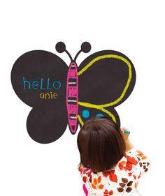 Vinilo Pizarra Butterfly board Myvinilo