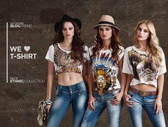 Urbanas com toque cool, as t-shirts conquistaram as fashionistas que são adeptas do conforto no universo streetstyle.  Tem para todos os gostos, vem ver!  >>http://bit.ly/21X8Tck  #fallwintermoikana16