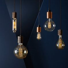Buy Buster + Punch Heavy Metal ES Pendant Cord Ceiling Light Online at…