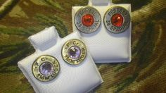 Bullet Casing Studs with Jewel from H&F Apparel GREAT PRICES @ HANDFAPPAREL.COM