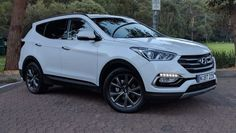 The South Korean division of Hyundai has just published the initial official images of the latest 2019 Santa Fe. The SUV's American-spec version is planned to make its public first appearance at the a Auto Hyundai, Hyundai Cars, Hyundai Vehicles, Subaru Tribeca, Crossover Cars, Ferrari, Lamborghini, Audi, Mc Laren