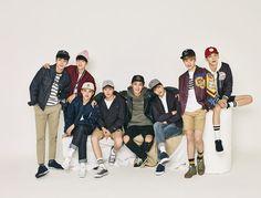 "「EXO」、帽子ブランド「Hat's On」秋グラビアを公開 ""永遠の少年たち""-韓国音楽(k-pop)"