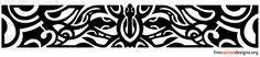 Turtle armband tattoo design (Polynesian style)