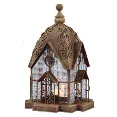 Glass Panel Candle Lantern Architectural Design in Metal Frame - Windale Candle Lanterns, Tea Light Candles, Candleholders, Le Corbusier, Battery Operated Tea Lights, Classical Antiquity, Hamptons House, Beveled Glass, Glass Panels