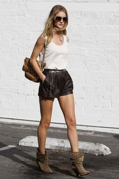 Google Image Result for http://stylehints.net/wp-content/uploads/2012/10/rosie-huntington-whiteley-street-style-leather-shorts-boots.jpg
