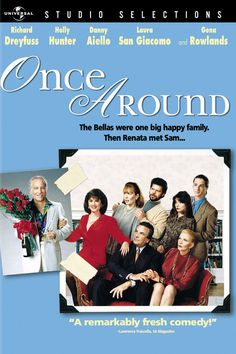 GOT IT :D     Once Around DVD - May only be found online, starring Holly Hunter & Richard Dryfuss