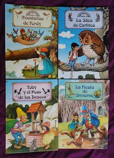 Vintage Rainbow's end books / Libros Rainbow's end   Flickr - Photo Sharing!