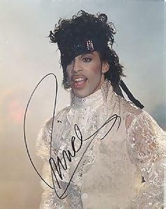 Classic Prince | 1984/85 Purple Rain Tour - Autographed - Authentic!