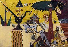 La Terre labourée, 1923-1924, Joan Miró, New York, Guggenheim Museum