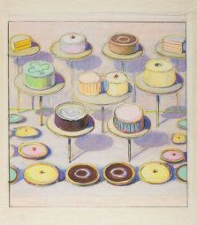 Wayne Thiebaud. Cake