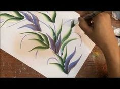 One Stroke Painting with Donna Dewberry - How to Paint Wildflowers, Pt. 5: One Stroke Dragonfly - YouTube