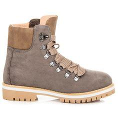 Dámske semišové topánky na zimu 9092-18KH
