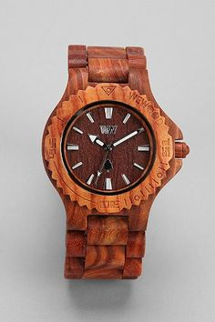 cool wooden watch. fun addition to a guy's watch collection.