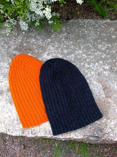 A Rocky-inspired lightweight cap in rib. Decreases form a cross on the crown on one side. Cap is reversible and it's long enough for various styles of folding. Knit in soft fine yarn, it's very warm and skin-friendly. The Crown, Knitted Hats, Winter Hats, Cap, Knitting, Hat Patterns, Inspiration, Inspired, Style