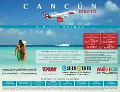 Destino: Cancún Cooperado: CANCUN / TAM / MEXICO Eperadoras : AGAXTUR - FLYTOUR - ORINTER - RCA TURISMO - TAM VIAGENS - TURNET  - VISUAL Veiculação: Novembro 2015