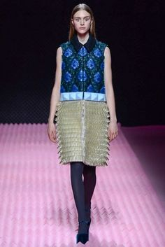 LFW Runway Report: Mary Katrantzou Fall 2015 via OliviaPalermo.com