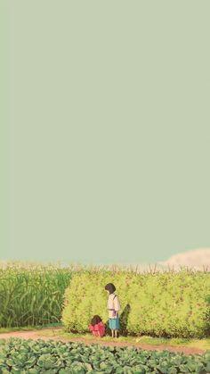 Studio ghibli,spritide away,hayao miyazaki Studio Ghibli Films, Art Studio Ghibli, Studio Art, Totoro, Wallpaper Animé, Scenery Wallpaper, Drawing Wallpaper, Kawaii Wallpaper, Trendy Wallpaper