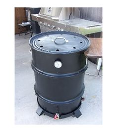 DIY 55 Gallon Drum Smoker Plans - Simple step by step instructions to re-purpose an old barrel into a smoker Barrel Bbq, Barrel Smoker, Steel Barrel, 55 Gallon Drum Smoker, Ugly Drum Smoker, Food Grade Barrels, Homemade Drum, Diy Smoker, Smokehouse Bbq