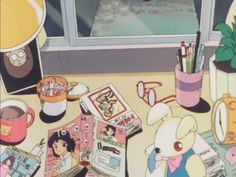 Find images and videos about anime, aesthetic and kawaii on We Heart It - the app to get lost in what you love. Manga Anime, Anime Gifs, Old Anime, Anime Art, Retro Aesthetic, Aesthetic Anime, Kawaii Anime, Anime Tumblr, Animation