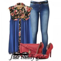 Women's casual wear combinations | Just Trendy Girls