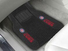 """MLB - Chicago Cubs Deluxe Mat 21""""x27"""""""