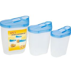 Microwaveable Storage Container Set of 3 @ Rs. 111 | MRP 399 | PepperFry