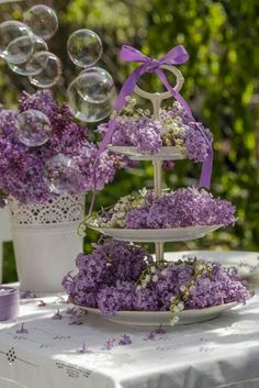 Lilacs and Lilly of the Valley