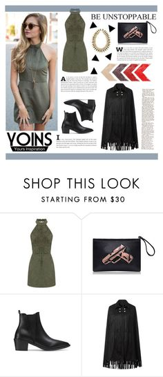 """Unstoppable"" by tasnime-ben ❤ liked on Polyvore featuring yoins and yoinscollection"